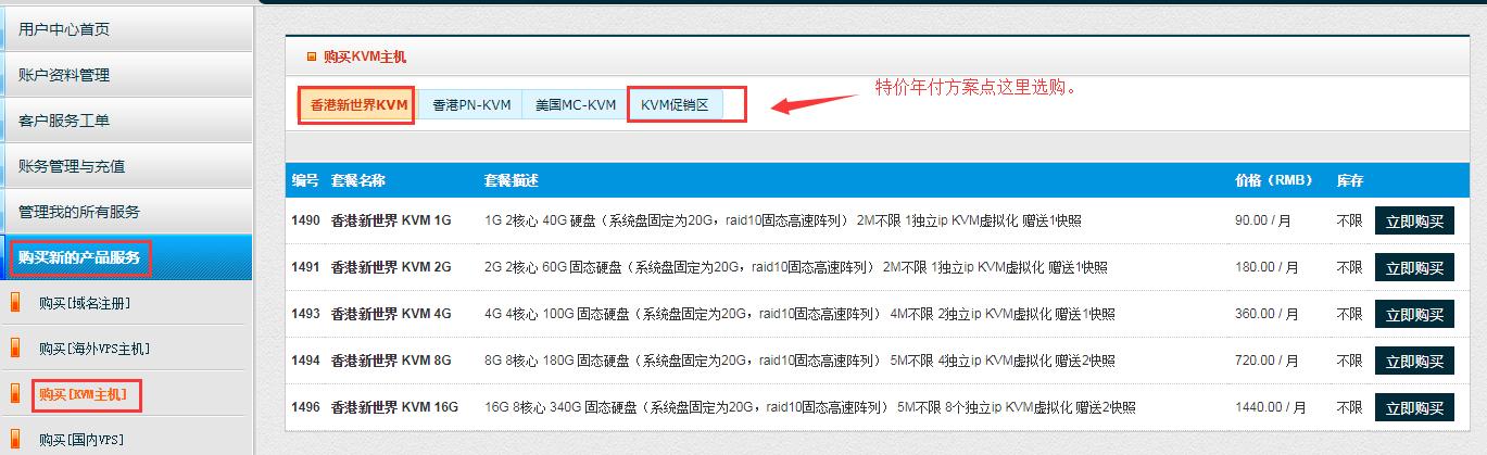 80VPS上线香港新世界机房VPS,大陆CN2直连,终身6折,2核1G特价299元/年,免备案建站