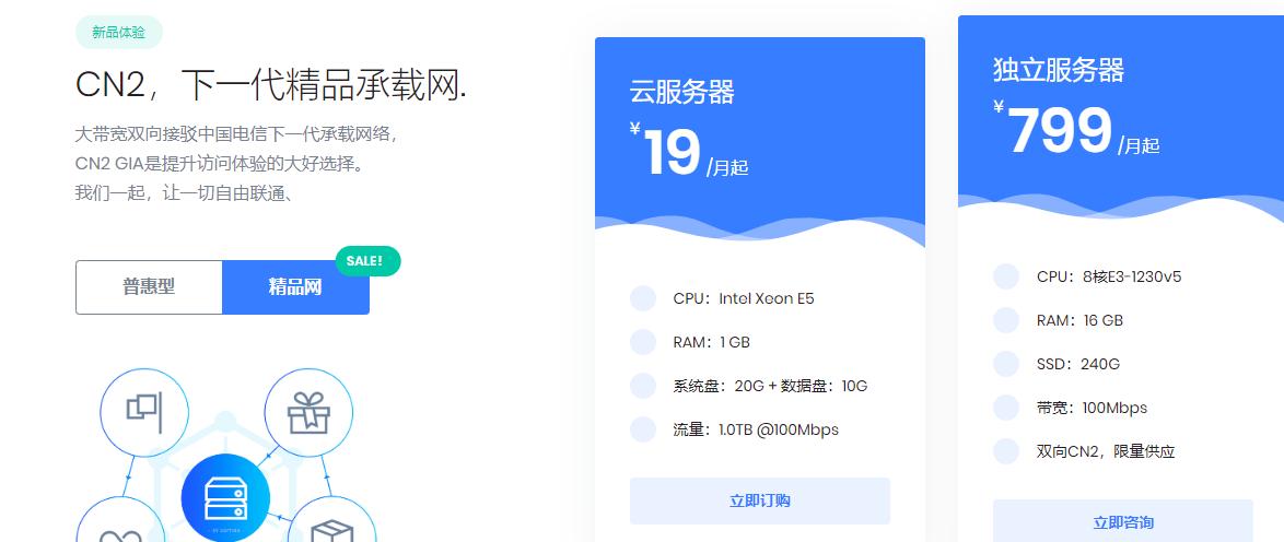 极光KVM:美国CN2 GIA/日本CN2 GIA/香港CMI线路VPS低至15元/月起,原生IP+100M以内大带宽