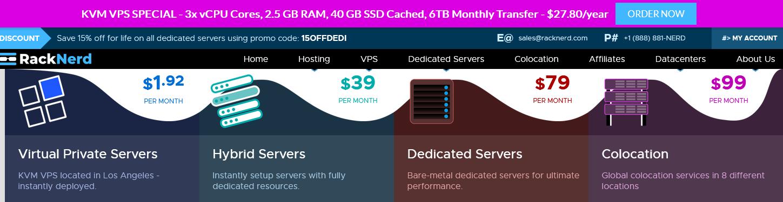 RackNerd:大硬盘存储服务器促销,160TB硬盘,双路E5处理器,128G大内存,最低$395/月起!