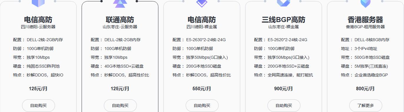 加速云618年中大促销,所有服务器八折回馈,2核2G/100元/月起